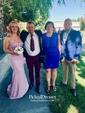 Silk-like Satin Appliques Lace Sweetheart Fashion Sheath/Column Bridesmaid Dress