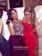 Top Trumpet/Mermaid Sweetheart Silk-like Satin Sweep Train Ruffles Red Backless Bridesmaid Dresses
