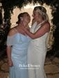 A-line V-neck Floor-length Chiffon Ruffles Bridesmaid Dresses