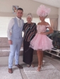 Princess Off-the-shoulder Organza Tulle Short/Mini Appliques Lace Cute Bridesmaid Dresses