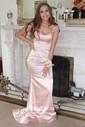 Trumpet/Mermaid V-neck Floor-length Prom Dresses
